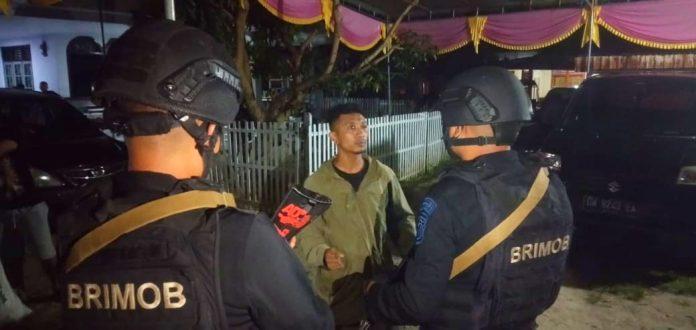 Patroli Ilato Brimob Gorontalo Tangani Kejadian Pengeroyokan