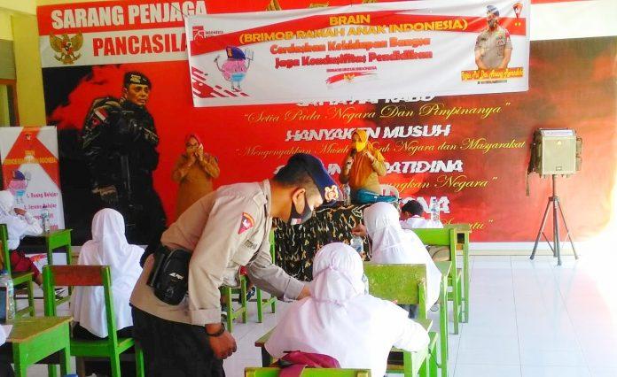 Bentuk Generasi Emas Indonesia, Satbrimobda Gorontalo Meluncurkan Program BRAIN