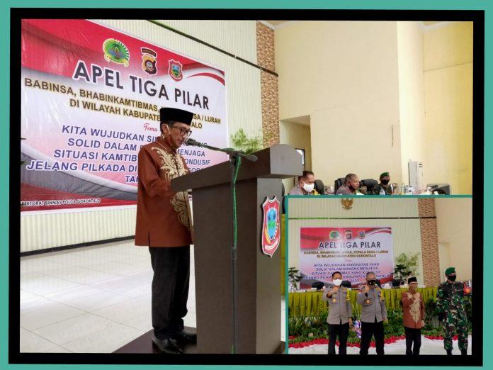 Apel Tiga Pilar, TNI-Polri Kawal Pilkada Serentak