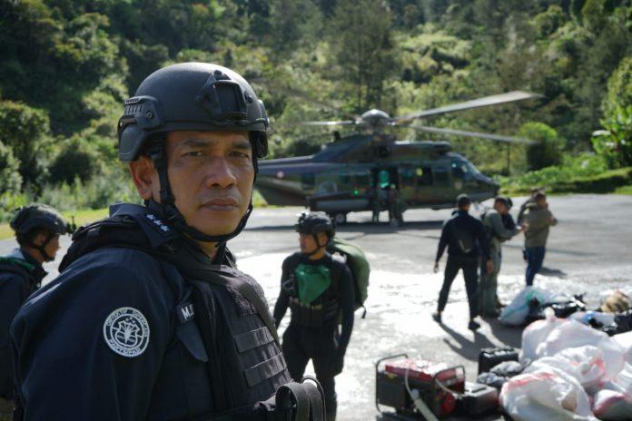 Kasatgas Humas Ops Nemangkawi Kombes M. Iqbal Alqudusy