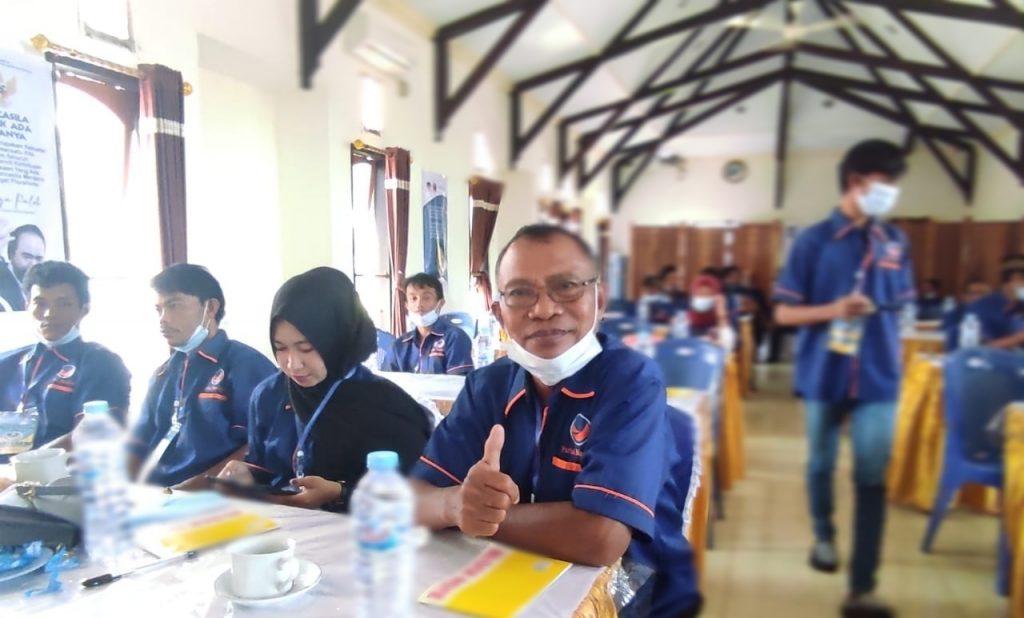 Ketua Dewan Pimpinan Cabang (DPC) Bolang Itang Barat, Mahludin Paputungan, S.Sos